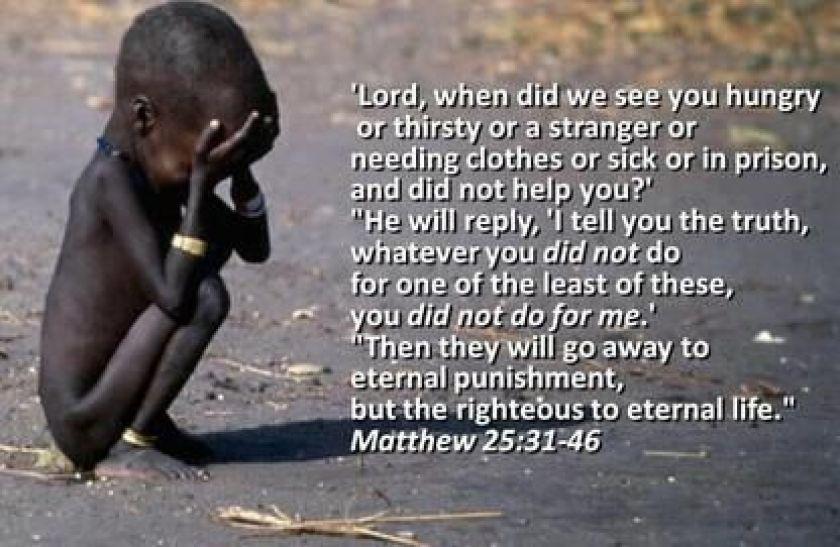 Hasil gambar untuk Matthew 25:31-46