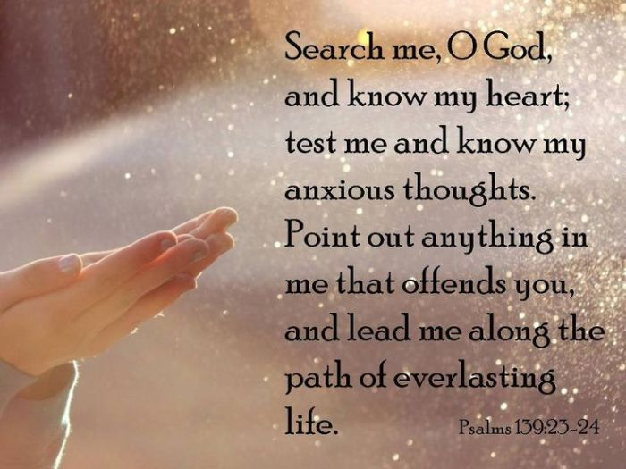 Image result for psalm 139:23-24