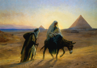 The Escape to Egypt - Palestine/Israel - December
